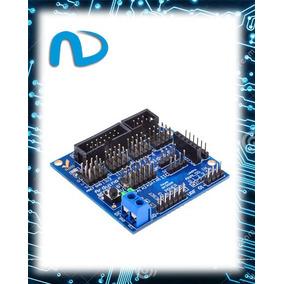 Shield Sensor V5 V5.0 Arduino Placa Expansão-promoção