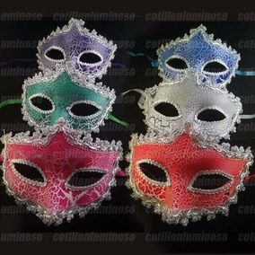 Antifaz Veneciano Craquelado Mascaras Premium A213