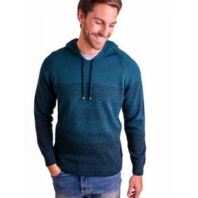 259090eb06ac6 Sweater Con Capucha Caballero- Mauro Sergio-art 260