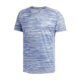 Camiseta adidas Rs Print Azul E Branca 76beca21f5e32