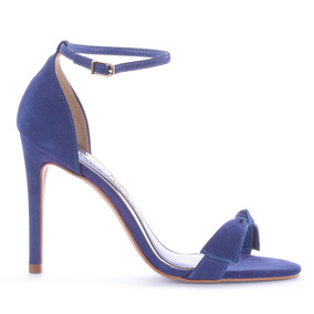 Sandalia Jacy Nobuck Azul
