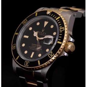 Rolex Submariner Aço Ouro Sólido Completo 1985 Ref. 1680