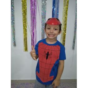Fantasia Homem-aranha Com Máscara