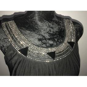Vestidos de noche negro y plata