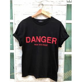 Playera Bershka danger
