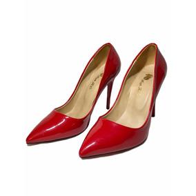 42372ed9e3 Liquido Mercado Charol Uruguay En Zara Rojo Libre Zapatos De Calzados aqHxt0
