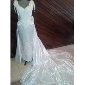 Como decorar un vestido de novia usado