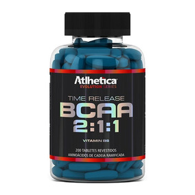 Bcaa Time Release 2:1:1 (200tabs) Atlhetica Nutrition