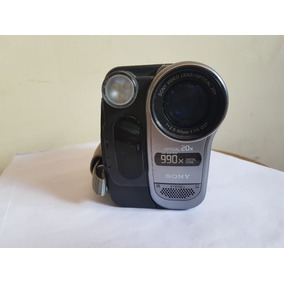 Câmera Sonydigital Dcr -trv280 Funcionando Completa Fita Hi8
