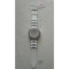 Reloj Wr Blanco Banda De Silicona