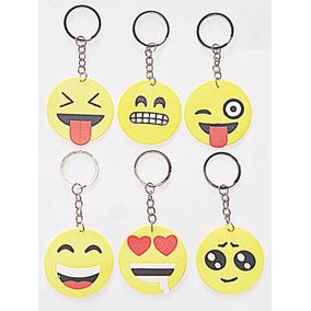 Chaveiro Emoji Whatsapp Kit Com 2 Dúzias
