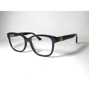 Armacao Feminina Gucci Grau - Óculos Preto no Mercado Livre Brasil 0152cfd39a