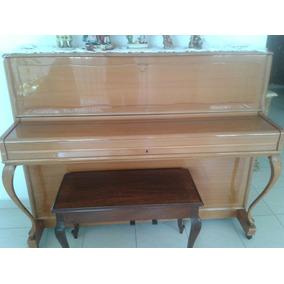 Piano Vertical Clásico Hoffman Con Banqueta