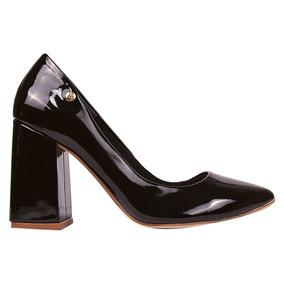 Sapato Feminino Scarpin Salto Medio Grosso Festa Stl152 2018