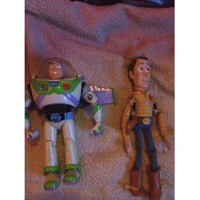 c20f74428b554 Toy Story Buzz Lightyear Y Woody Con Voz Es En Español 1gen