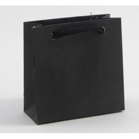 Sacola De Papel Offset - Pct C/ 50 - Várias Cores - 6,5x6,5