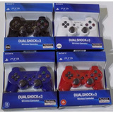 Control Ps 3 Dualshock 3 Play Station Importado Sony Colores