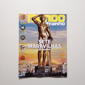 Revista Mundo Estranho 188 As Sete Maravilhas Do Mundo