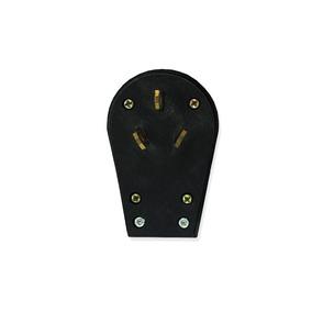 Enchufe Angular 3p 50a Color Negro (gm493p)
