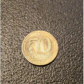 Moeda De 50 Centavos De 1945
