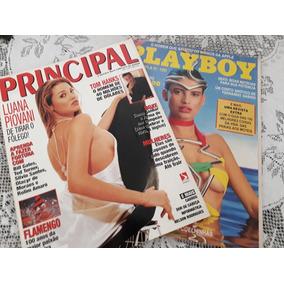 Revistas Principal Luana Piovani E Playboy Isadora Ribeiro !