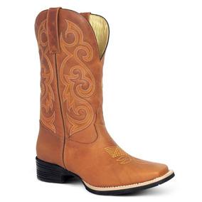 Silverado Botas Texanas Femininas Bico Quadrado - Sapatos no Mercado ... fcc49c75314