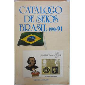 Catálogo De Selos Do Brasil Rhm - 1990/91