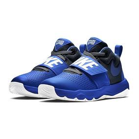 Tenis Nike Hustle Team Azul Originales Nuevos En Caja!!!!!!