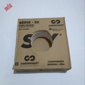 3 Caixa De Cabo Rg59 53% Malha (( Máximo 2 Kits Por Compra))