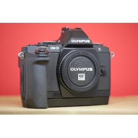 Olympus Om-d M5 Corpo Com Grip