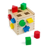 Juguete Cubo Encastre Madera Formas Geometricas Melissa