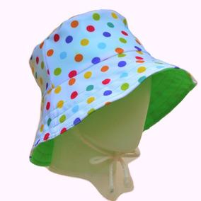 Sombrero Gorro Piluso Para Playa Blanco Con Detalles - Ropa y ... 45db6b7bdf3