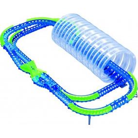 Brinquedo Pista Wave Racers Spiral Frenzy Veículo E Pistaa
