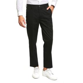 Pantalón Dockers Signature Khaki Negro Slim Fit 28w X 32l