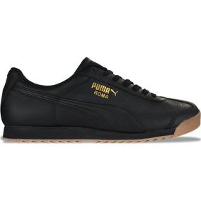 Tenis Puma Roma Classic Gum /negro 100% Original En Caja