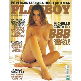 Playboy Michelle Costa Bbb - Mar/2009 - N° 406