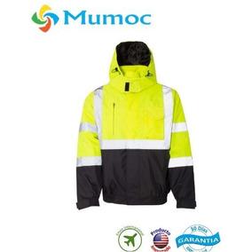 Chamarra Trabajo Industrial Seguridad Xxl Waterproof
