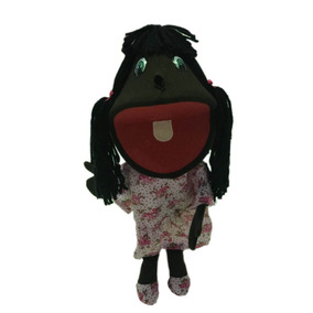 Fantoche Plus Menina Negra