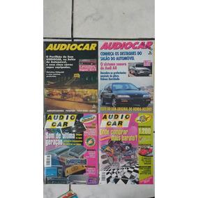Lote 7 Revistas Audiocar Som Carro Automotivo