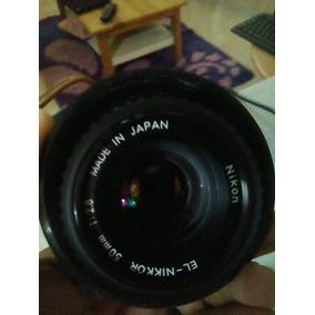 Lente Nikon El-nikkor 50mm 1:2.8