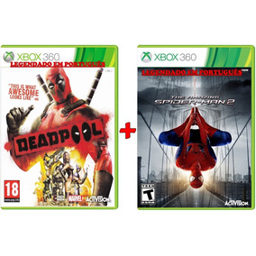 Deadpool E The Amazing Spider Man 2 Xbox 360 Desbl0queado