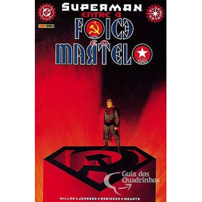 Superman: Entre A Foice E O Martelo (3 Edições) Panini