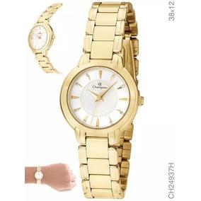 ff5ce1e0cff Relogios Feminino Dourado Pequeno - Relógio Feminino no Mercado ...