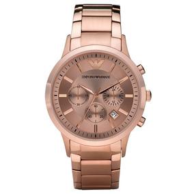 fdb9a43329 Relógio Empório Armani Ar2452 Rose - Joias e Relógios no Mercado ...