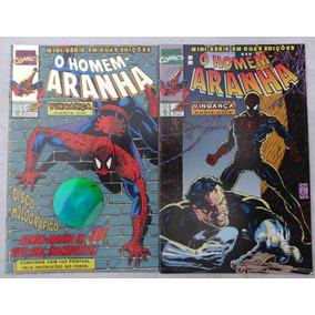 3 Mini-séries Homem Aranha - Tormento - Vingança - Wolverine