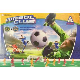 Jogo Futebol Club Com 2 Seleções - Brasil X Argentina - Gull