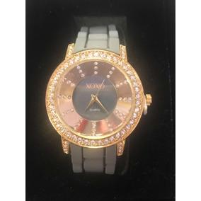 Reloj Xoxo Original Para Dama Correa Gris De Caucho Envío Gr