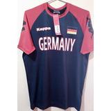 Camiseta Kappa Kombat Alemanha - Tamanho Gg xg 62af0fcbe43d1