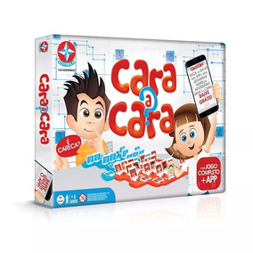 Jogo Cara A Cara Estrela - Jogos no Mercado Livre Brasil 70d1d354a9