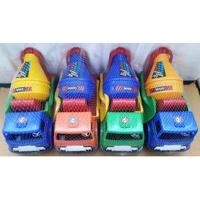 Camion Mescladora Mediano Para Niños Lar-35 Ancho-15 Alto 20